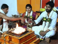 Forcible marriage to Bajrang Dal activist