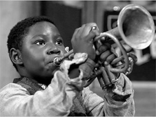 louis armstrong as a child